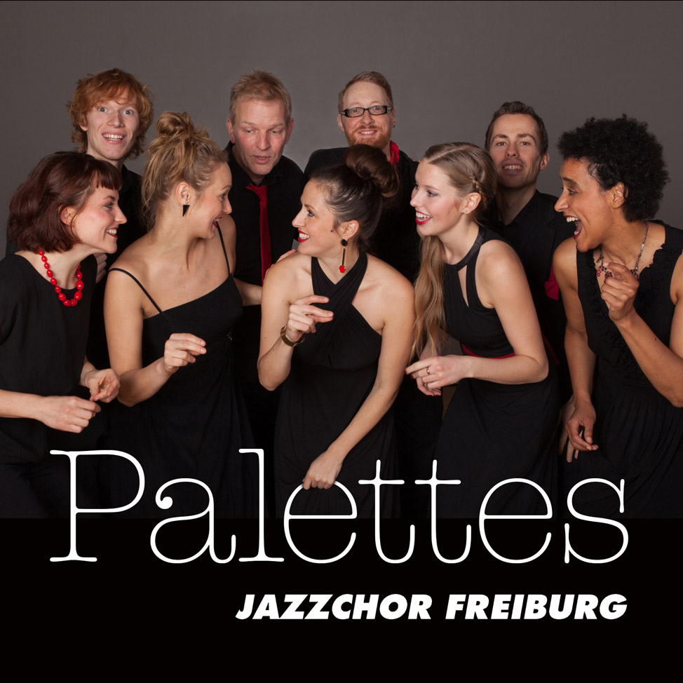 Jazzchor Freiburg - Palettes (Roger Treece) - CD Covers